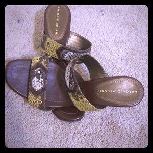 Back less sandals